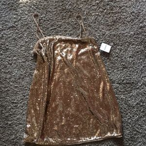 Sequin free people dress